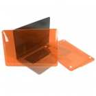"Capa Protetora Enkay dura de cristal para ""13-inch MacBook Pro com Retina Display"" - Orange"