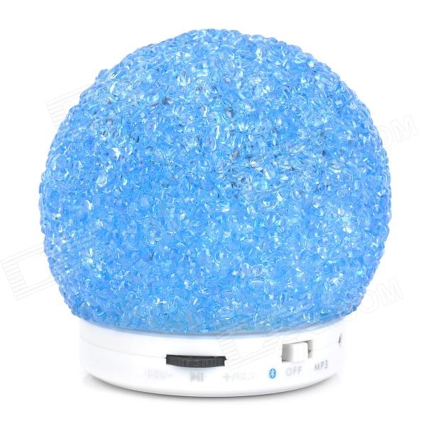 3W Bluetooth V2.1 Speaker w/ TF / Mini USB - Blue + White thumbnail