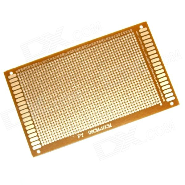 PCB159 1.2mm 15 x 9cm Bakelite PCB Circuit Boards - Dark Orange (5 PCS)  pcb79 1 2mm 7 x 9cm bakelite pcb circuit boards dark orange 5 pcs