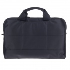 "Tee 13.3"" Shock-Proof Water Resistant One-shoulder Sleeves Bag w/ Handle for Notebook - Black"