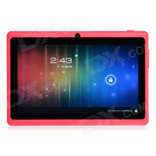 "Y88 7.0-""Android 4.1 tokjerners Tablet PC med 512MB RAM, 4GB ROM, HDMI, kamera - rosa"