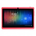 "Y88 7.0 ""Android 4.1 Dual Core Tablet PC w / 512MB RAM, 4GB ROM, HDMI, Kamera - Pink"
