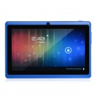 "Y88 7.0 ""Android 4.1 Dual Core Tablet PC w / 512MB RAM, 4GB ROM, HDMI, Kamera - Blau"