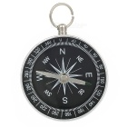 Handy Metal Compass Keychain