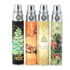 ZYS HDS1312011 Christmas Theme Pattern Rechargeable Electronic Cigarette Battery Poles for Ego