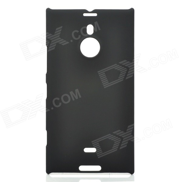 Protective Matte Plastic Back Case for Nokia Lumia 1520 6 - Black protective matte frosted screen protector film guard for nokia lumia 900 transparent