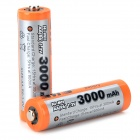 "MP Rechargeable ""3000mAh"" Ni-MH AA Battery - Orange + Grey (2 PCS)"