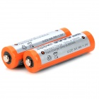 "MP oppladbare ""3000mAh"" Ni-MH AA batteri - Orange + grå (2 deler)"