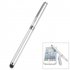 DZB-2 2-in-1 Capacitive Stylus Pen + Black Ink Pen - Silver