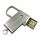 Ourspop U526 New Swivel Aluminum Alloy USB 2.0 Flash Drive Stick - Silver (16GB)