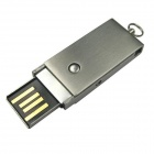 Ourspop U526 New Swivel liga de alumínio USB 2.0 Flash Drive vara - prata (16GB)