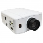 RuiQ 50W LED Multimedia 3D Projector w/ VGA / HDMI / AV / USB - White