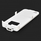 3200mAh External Power Battery Charger w/ Back Case / Woven USB Cable for Iphone 5 / 5s - White