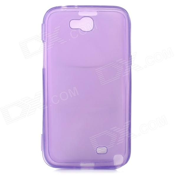 Protective Silicone Case for Samsung N7100 - Translucent Purple protective silicone case for nds lite translucent white