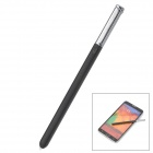 Multifunctional Capacitive Screen Stylus for Samsung Note 3 N9000 - Black + Silver
