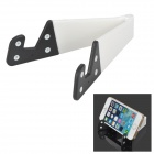 Multifunction Plastic Stand Holder for Cell Phone - White