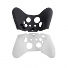 e-J YYX-08 Protective Silicone Cases for XBOX ONE Controller - Black + White (2 PCS)