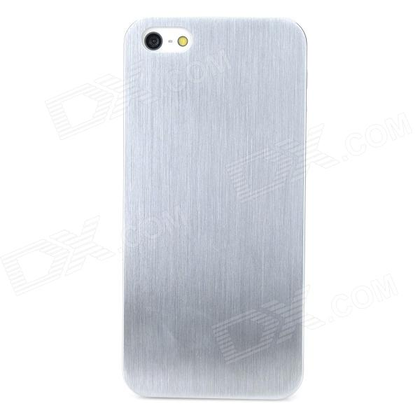 Protective Titanium Alloy Back Case for Iphone 5 / 5s - Silver