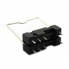 Jtron 8-Pin Soldering PCB Type Relay Transposon / With Buckle Hanging - Black (5 PCS)