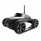 Brilink BST01 iPhone / iPad / Android-Gerät Kontrollierte 4-Kanal 2.4G Wireless Spy Tank - Black + White