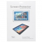 High Quality PET Screen Protector for Samsung Galaxy Note 10.1'' 2014 Edition - Transparent (3PCS)