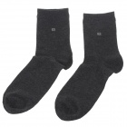 enbl 100% Cotton Men's Fashion Socks - Dark Grey (Pair)