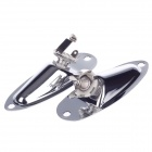 High Quality Steel Alloy Guitar / Bass Jack Set - Silver (2 PCS)