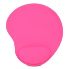 11H01 Stylish EVA + Fabric Mouse Mat Pad - Deep Pink