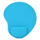 11H01 Stylish EVA + Fabric Mouse Mat Pad - Light Blue