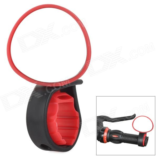 1602 Convenient 360' Rotating Rearview Plane Mirror for Bicycle - Red