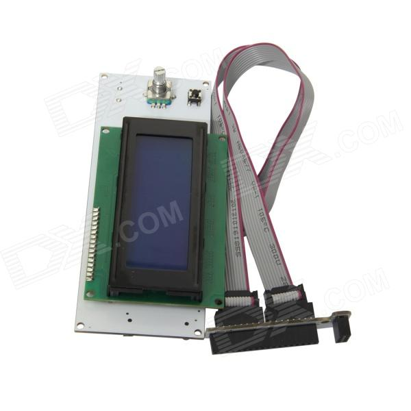 ChuangZhuo Ramps1.4 FR4 Smart Control Board w/ 3.2' LCD Smart Controller Ki / SD for 3D Printer original inverter control panel fr du04
