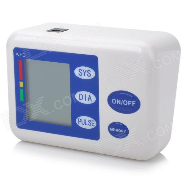 "NEW VERSION 2.6"" LCD Digital Fully Automatic Arm Style Blood Pressure Monitor  (4 x AA)"