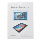 High Quality Anti-dust Scratch Proof PET Screen Protector for Ipad AIR - Transparent (3PCS)
