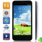 ZTE V965 MTK6589 Quad-Core Android 4.1.2 WCDMA Bar Phone w/ 4.5' IPS, FM, Wi-Fi, GPS - Black + White