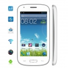 Mysaga C3 Dual-Core Android 4.2 GSM Bar Phone w/ 4.0', Wi-Fi, GPS and 512MB ROM - White