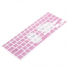"XSKN  Kittens Protective Keyboard Cover Guard for MacBook Pro 13"", 15"", 17"" - Pink + White"