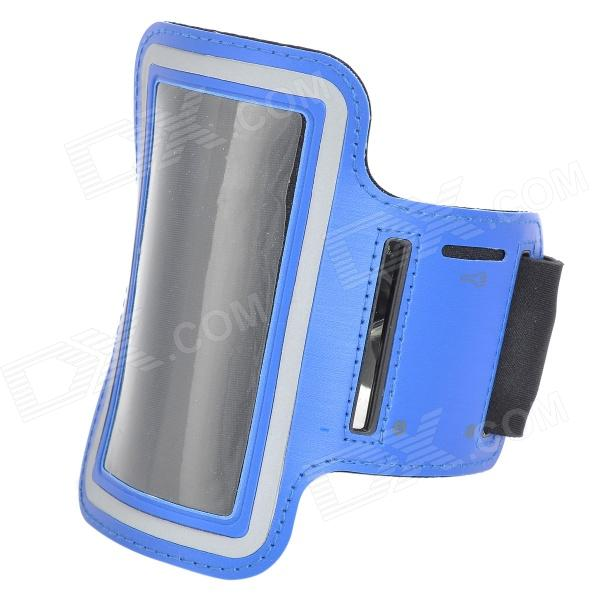 Fashion PCB Protective Armband for Iphone 5 / 5s - Blue + Black