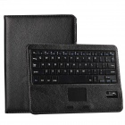 Detachable Bluetooth V3.0 Keyboard Case w/ Touchpad for Samsung Galaxy Note 10.1(2014) - Black