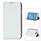 A-577 Protective Sheepskin Case for Samsung Galaxy S4 i9500 - White
