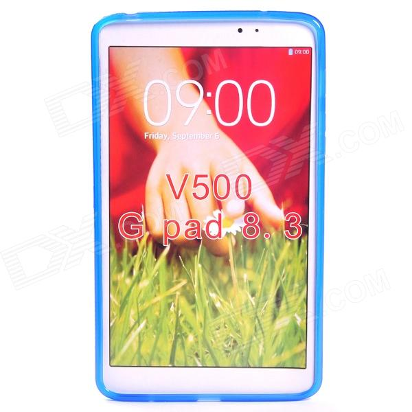 X Style Protective TPU Back Case for LG G Pad 8.3 V500 - Blue yi yi protective tpu back case cover w screen protector for lg g pad v500 purple