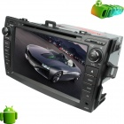 "LsqSTAR 8"" Android 4.0 Car DVD Player w/ GPS,TV,RDS,Wi-Fi,PIP,SWC,AUX-IN,3D UI,Dual Zone for Corolla"