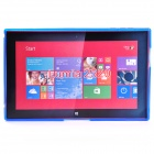 """X"" Style Protective TPU Back Case for NOKIA Lumia 2520 - Blue"