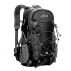 Locallion Outdoor Multi-function Backpack Bag - Black (50L)