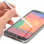 Multifunctional Capacitive Screen Stylus for Samsung Note 3 N9000 - White + Silver
