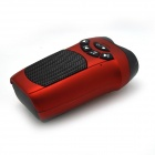 S10 Outdoor Speaker + 3.0MP Camera Combo w/ LED Flashlight - Red
