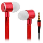 HXT-2026 Creative Shoelace Style In-Ear Earphone for Cell Phone / MP3 / MP4 / PC (Cable-114cm)