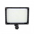 W200 Universal 16W 200-LED 1800lm Video Light - Black (6 x AA)
