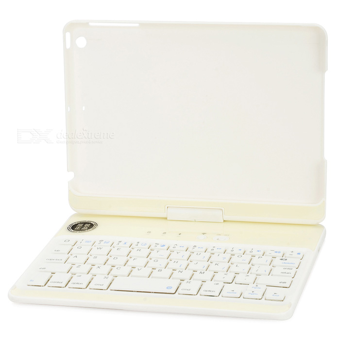 Folding Rotatable Bluetooth V3.0 59-Key Keyboard w/ Case for Retina Ipad MINI / Retina Ipad MINI