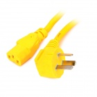 250V 3000W 13A AC Power Connection Cable - Yellow (1.5m / AU Plug)