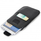 Protective PU Velcro Case for Samsung N7100 / i9220 - Black